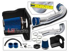 Heat Shield Cold Air Intake+BLUE For Chevrolet 07-08 Silverado 1500 4.8 5.3 6.0