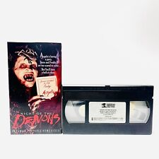 VINTAGE 1988 Horror - NIGHT OF THE DEMONS VHS