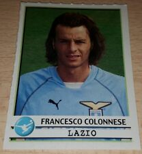 AGGIORNAMENTO FIGURINE CALCIATORI PANINI 2001/02 LAZIO COLONNESE ALBUM