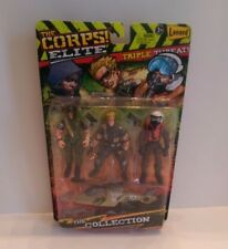 The Corps! Elite Triple Threat RECOIL, CONDOR & TROLL Lanard Toys NEW  from 2015