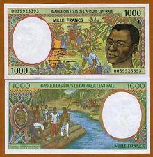Central African States, Gabon, 1000 Francs, 2000, 402Lg, UNC