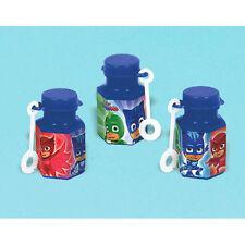 PJ MASKS MINI BUBBLES (12) ~ Birthday Party Supplies Favors Disney Toys Gekko