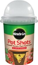 Miracle Gro 6 Month Tomato Plant Food Cones Pot Shots 160g Delivery