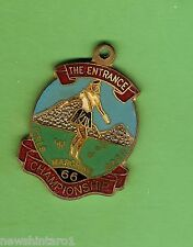 #D176. #17. MARCHING GIRLS BADGE - 1966 THE ENTRANCE CHAMPIONSHIPS, GOLD  AWARD