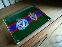 UDR and Royal Irish Regiment Premium Acrylic Block, Perfect Gift