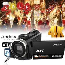 "Andoer Ultra 4K WiFi 48MP 1080P 3"" LCD HD Digital Video DV Camera DVR Camcorder"