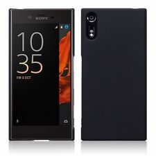 Sony Xperia XZ Original Case Rugged Tech Armour Hybrid Slim TPU Solid Black Gel