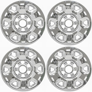 "17"" CHROME Wheel Skins / Hubcaps (Set of 4) FOR 2016-2021 Nissan Titan"