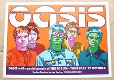 Oasis SIGNED NUMBERED USA MUSIC POSTER / PRINT Gandr