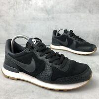 Nike Internationalist Premium Trainers, size UK4 EU37.5, US6.5. Black, Womens