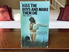 Kiss The Boys and Make Them Die by James Yardly 1970 Vintage Paperback Old Vtg