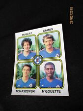 STADE FRANCAIS N'GOUETTE MUSCAT  image sticker N° 461 FOOTBALL 82 PANINI 1982 D2