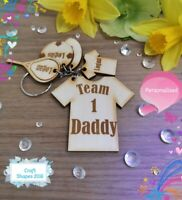 Personalised Team Daddy keyring, Father's Day, Christmas. Daddy, Dad, Grandad
