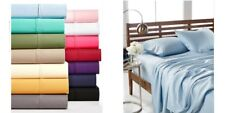 Aq Textiles Devon King Sheet Set, 900Tc, Light Blue - Missing 00004000  One Pillowcase