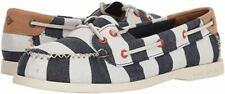 SPERRY Women's A/O Venice Canvas Boat Shoe Size 7.5 Navy/White