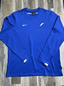 New Without Tags Dri-Fit Air Force Falcons Long Sleeve Shirt ON FIELD $75