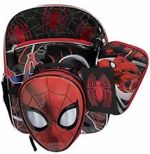 Marvel Spiderman 4 piece backpack set