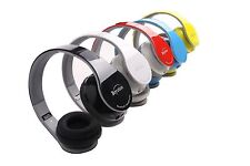 Black/Red/Pink/Blue/Red Bluetooth Headphones for All Cell Phone Laptop PC Tablet