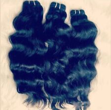 Raw Unprocessed Indian Human Hair Natural Wavy Texture 26""