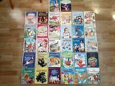 Little Golden books Vintage 60's - 90's pooh sesame street Lassie Skippy Tootle