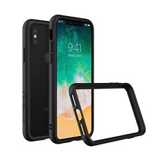 RhinoShield CrashGuard Bumper Case for iPhone X - Black