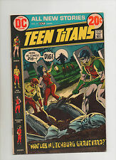 Teen Titans #41 - Grave & Tombstone Cover - (Grade 7.5) 1972