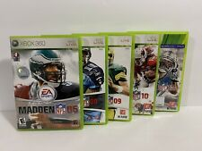 Madden Xbox 360 Lot Bundle 06 08 09 10 13 - Fast Shipping