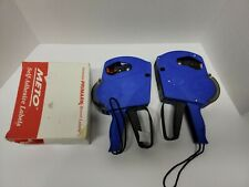 Duodeli Mx5500 2 Two Large Blue Label Guns Single Line Pricing with labels