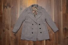 Burberry Brit Women's Wool Peacoat Coat US 14 UK16