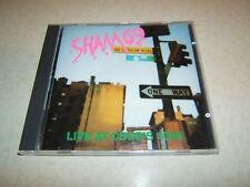 SHAM 69 : LIVE AT CBGB'S 1988  CD ALBUM