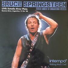 BRUCE SPRINGSTEEN Live at Estadio River Plate Intempo KXLP16 LP Vinyl Record