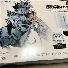 PlayStation 3 Metal Gear Solid White Console 40gb Japan *RARE COLLECTORS ITEM*
