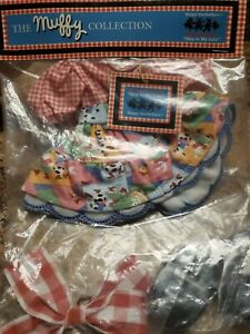 MUFFY VANDERHARE Skip To My Lulu  Outfit Hoppy New 1996 Dress Shoes Hairbow