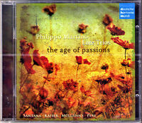 Philippo MARTINO Age of Passions Lute Trio CD Hille PERL Lee SANTANA Karl KAISER