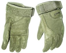 HEAVY DUTY SPECIAL OPS GLOVES cadets Army military ultra tough mens XXL olive