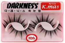 10 Pairs Darkness False Eyelashes Kma8 New