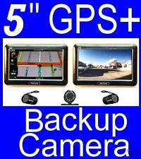 "5"" Gps Navigator bluetooth Fm + wireless backup camera"
