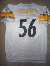 REEBOK Pittsburgh Steelers LaMARR WOODLEY nfl Jersey YOUTH KIDS BOYS xl