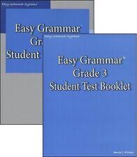 Easy Grammar Grade 3 Student Workbook & Test Booklet