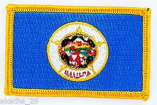 Ecusson Brodé PATCH drapeau Minnesota USA ETATS UNIS FLAG EMBROIDERED