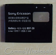 Genuine Sony Ericsson BST-39  T707, W380i, W508, W910i, Z555i  - Brand New