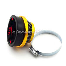 60mm Performance Air Filter For Gas Motorized Bike Bicycle Mini ATV Dirt Pocket