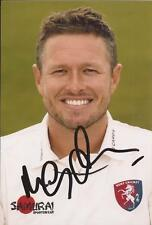 Kent Signed Cricket Memorabilia Photos