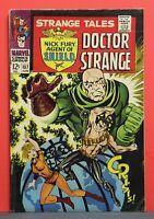 Strange Tales #157 1st App. of Living Tribunal Nick Fury Doctor Strange Steranko