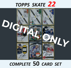 Topps Skate Gold Label Rare Signature & Dual Signature & Relic Complete Set 50