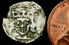 S392: Irlandese Edoardo IV Medievale MARTELLATO ARGENTO 1d: Dublino Nuovo di zecca, ma la maggior parte Insolito