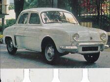 RENAULT DAUPHINE * COOP Metall - Sammelbild * tin card * 1965 *