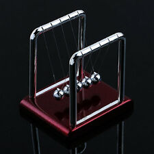Newtons Cradle Steel Balance Balls Desk Physics Science Pendulum Desk Toy BN