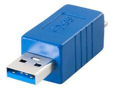 Lindy USB 3.0 Adapter, USB A Male to Micro-B Male SuperSpeed Compliant 71271 (C)
