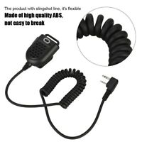 K Head Walkie Talkie Portable Handheld Microphone Speaker Mic for Two Way Radio